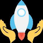rakett som illustrerer å få fart i teoriprøve-læringen