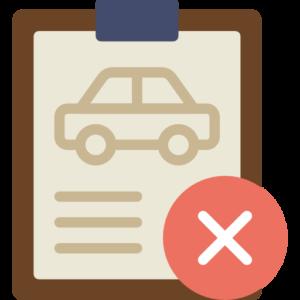 ikke bestått teoriprøven for bil