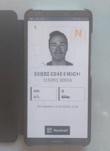Digitalt førerkort